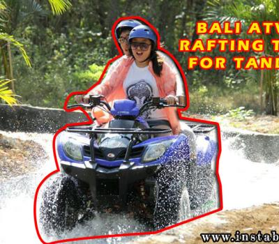 Cheapest Bali Rafting and Atv Tour Package for Tandem