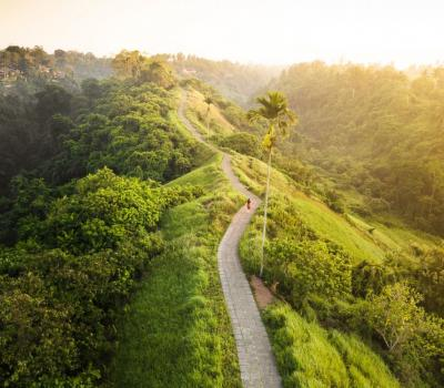 2 Start Points of Ubud Campuhan Ridge Walk (Bali)