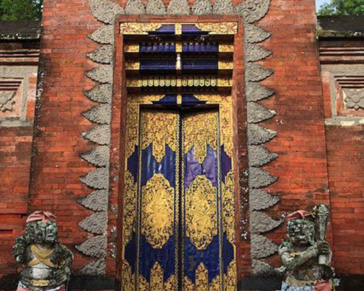 Angkul Angkul Batu Bata Stil Bali Untuk Rumah dan Villa