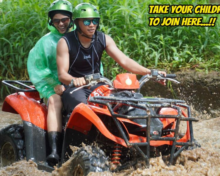 Only Here! ATV Adventure for Children in Bali is Guaranteed Safe