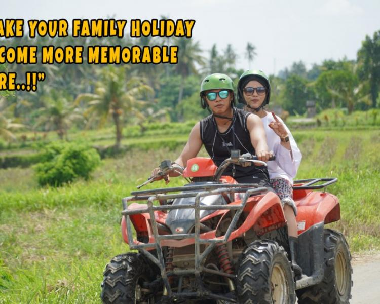 Join in Bali Atv Ride Family – Start From USD $120 for 2 Persons
