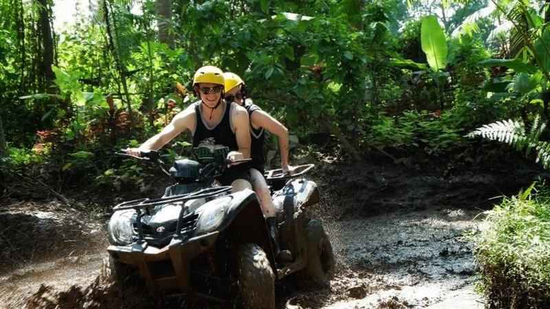 Bali Tandem ATV Riding and Tubing Tour