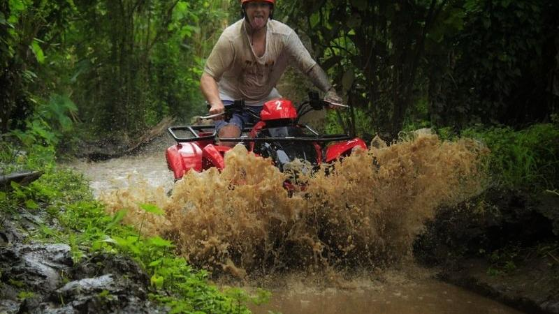 Bali Single ATV Riding and Tubing Tour