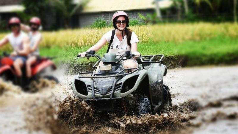Bali Single ATV Riding and Rafting Tour
