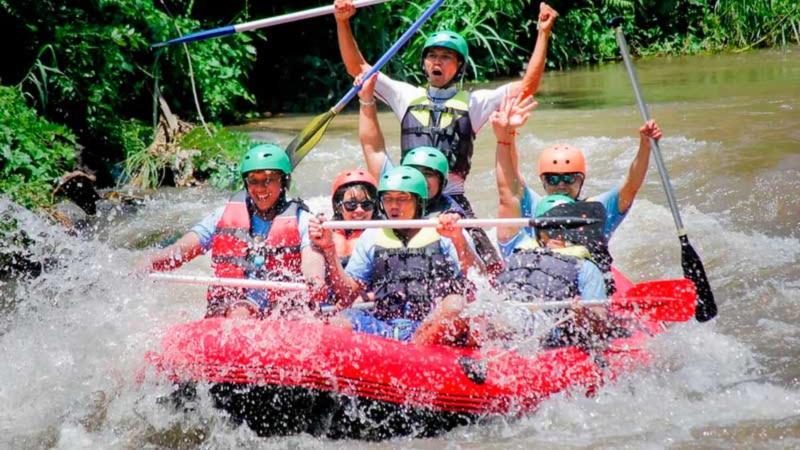 Bali Single ATV Riding and Rafting Tour