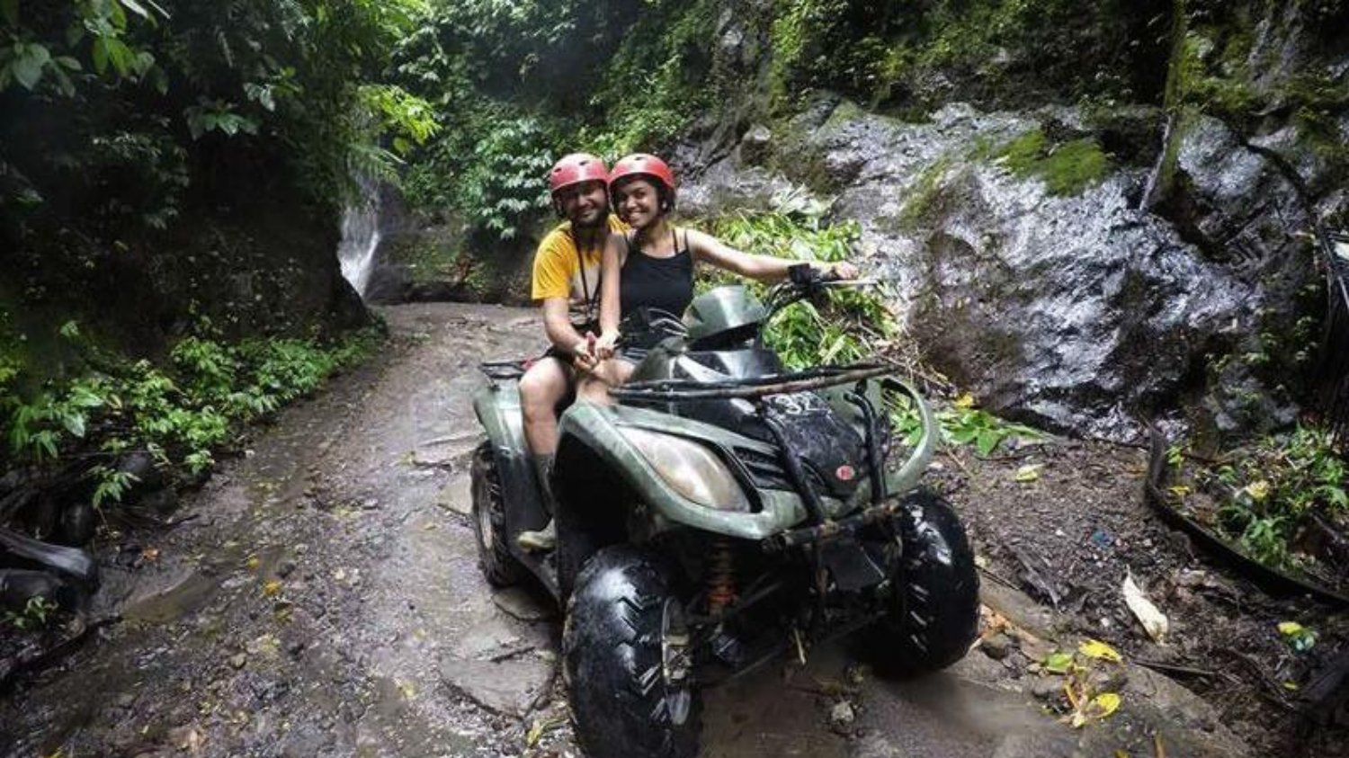 Bali Tandem ATV Riding Tour