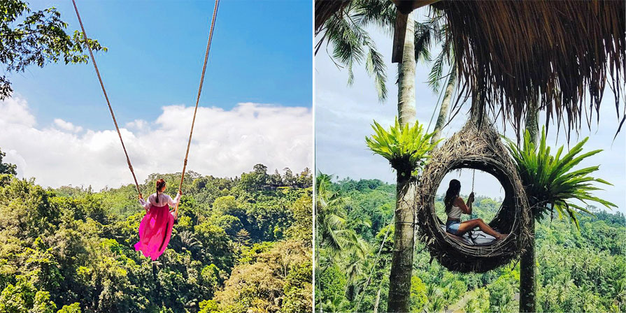 Age and Weight Limit for Bali Swing Activity in Ubud