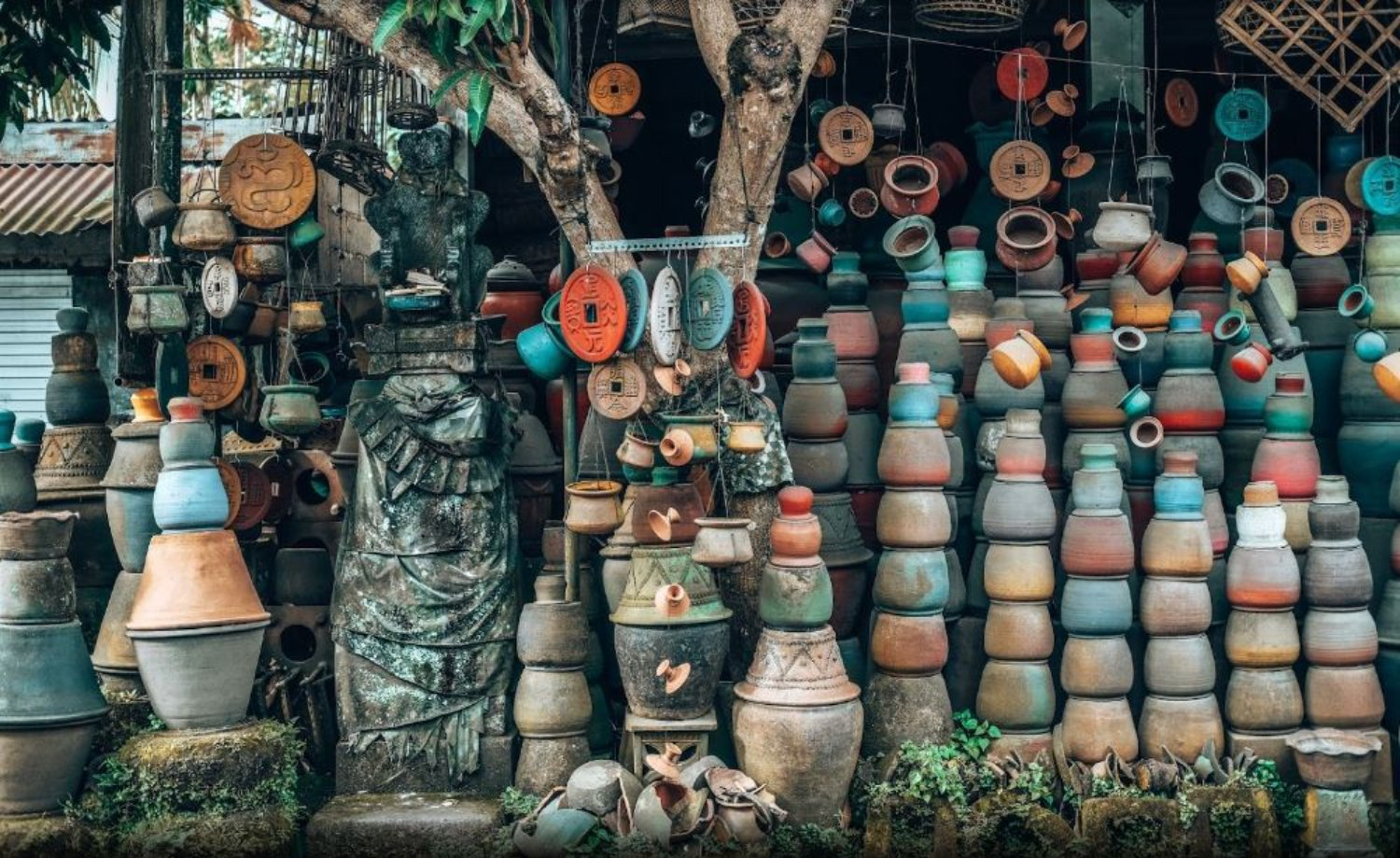 Ubud Serayu Pot & Terracotta, The Instagrammable Spot in Ubud
