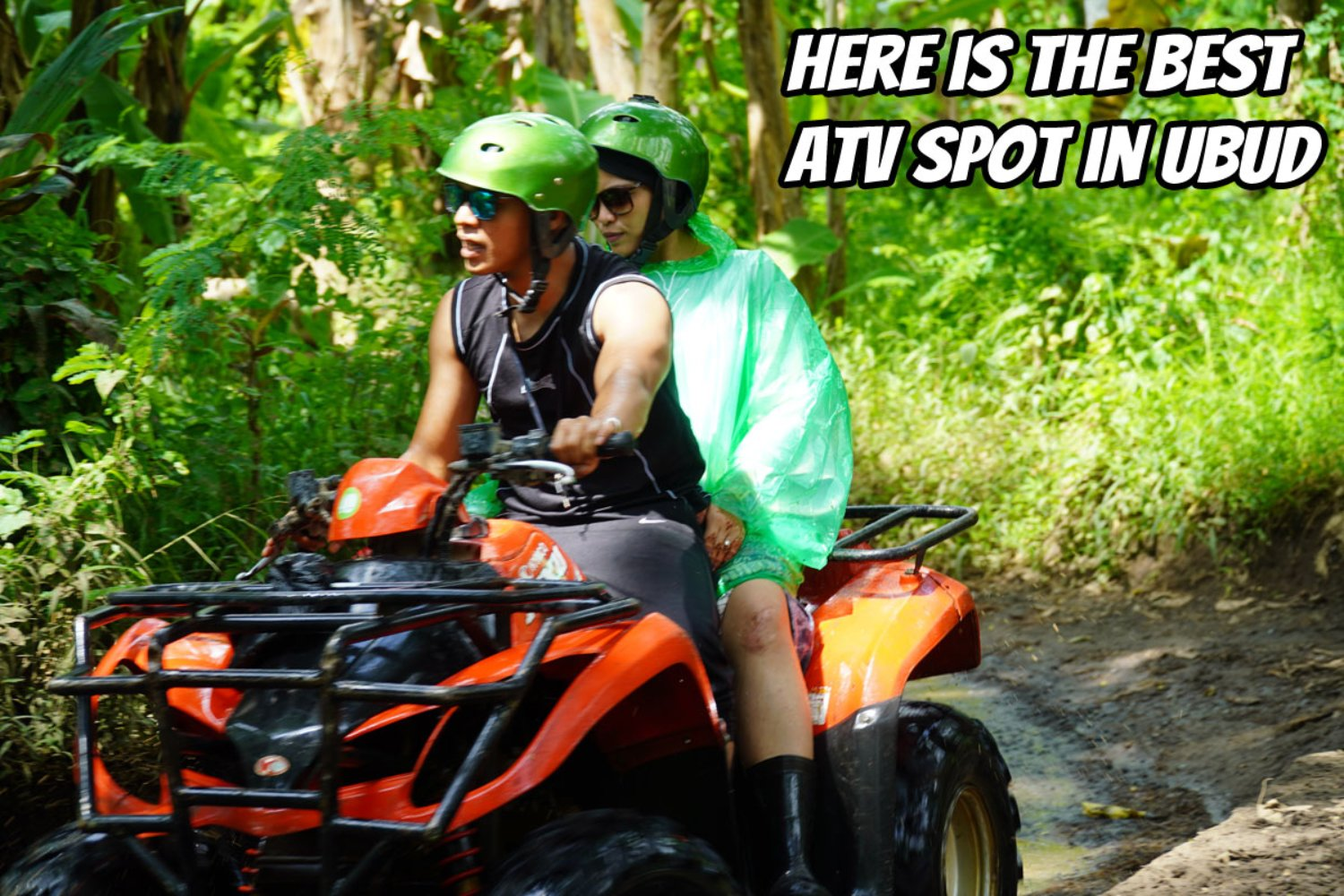 Here is The ATV Adventure Spot in Ubud with Unforgettable Tracks