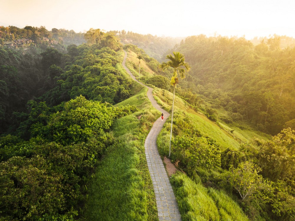 2 Start Points of Ubud Campuhan Ridge Walk (Bali)