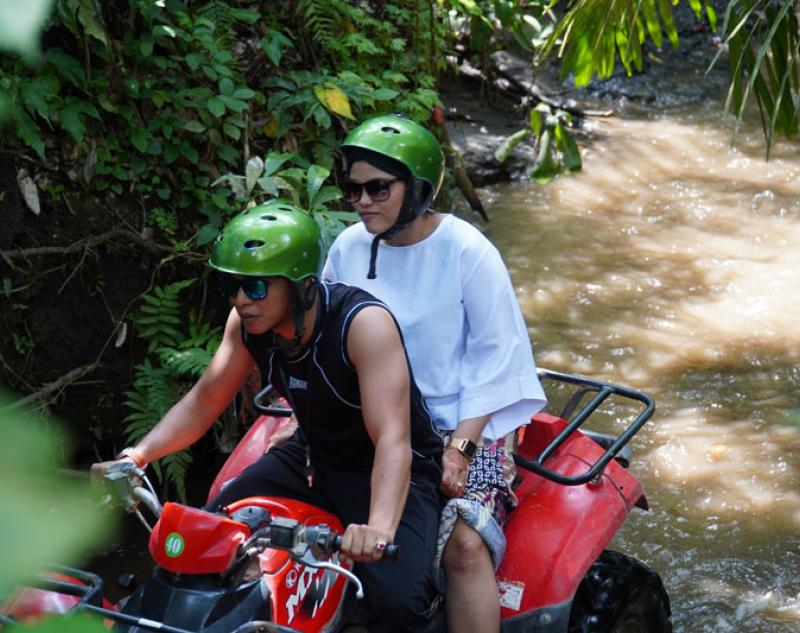 ATV Ride Family Ubud