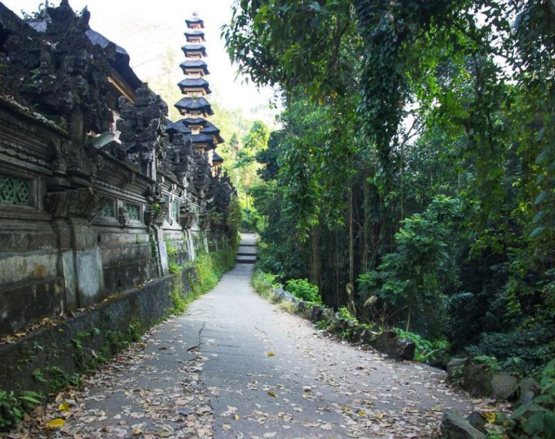 Entrance of Ubud Campuhan Ridge Walk