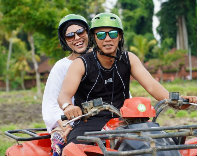 Excitement in Bali ATV Ride