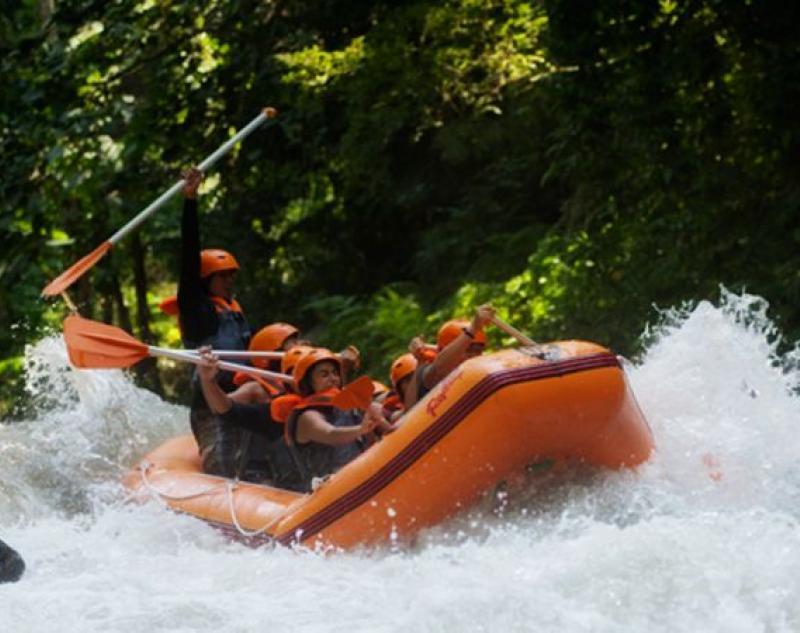 Rafting at Ubud River