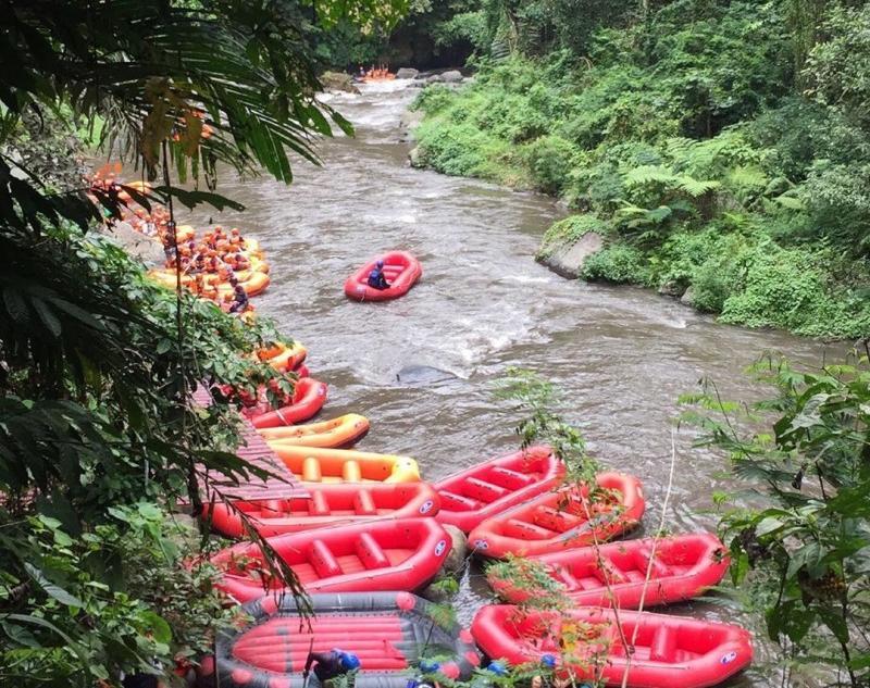 Rafting in Bali River