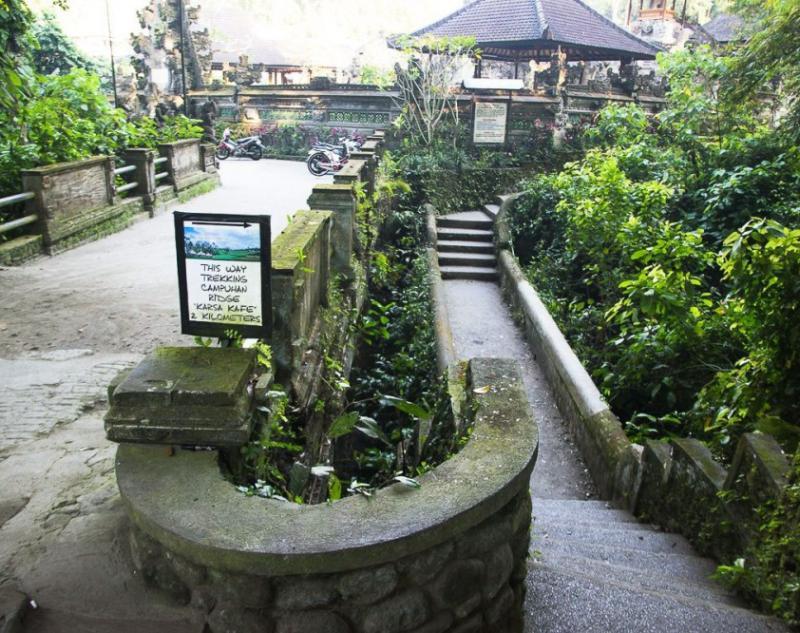 Start Point to Ubud Campuhan Ridge Walk