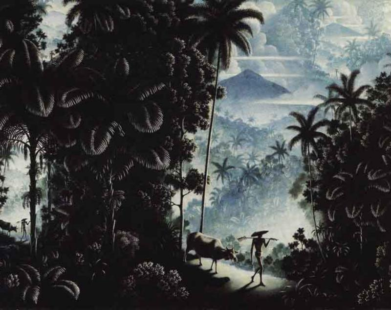 Walter Spies The Landscape and Her Children