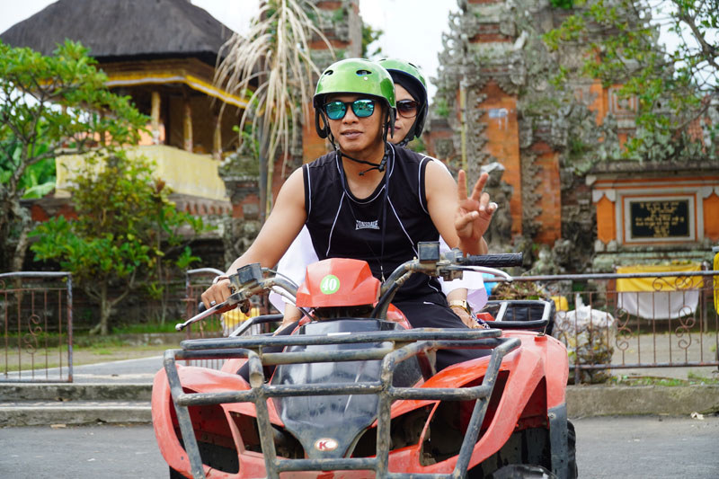 ATV Ride Activity in Ubud Bali