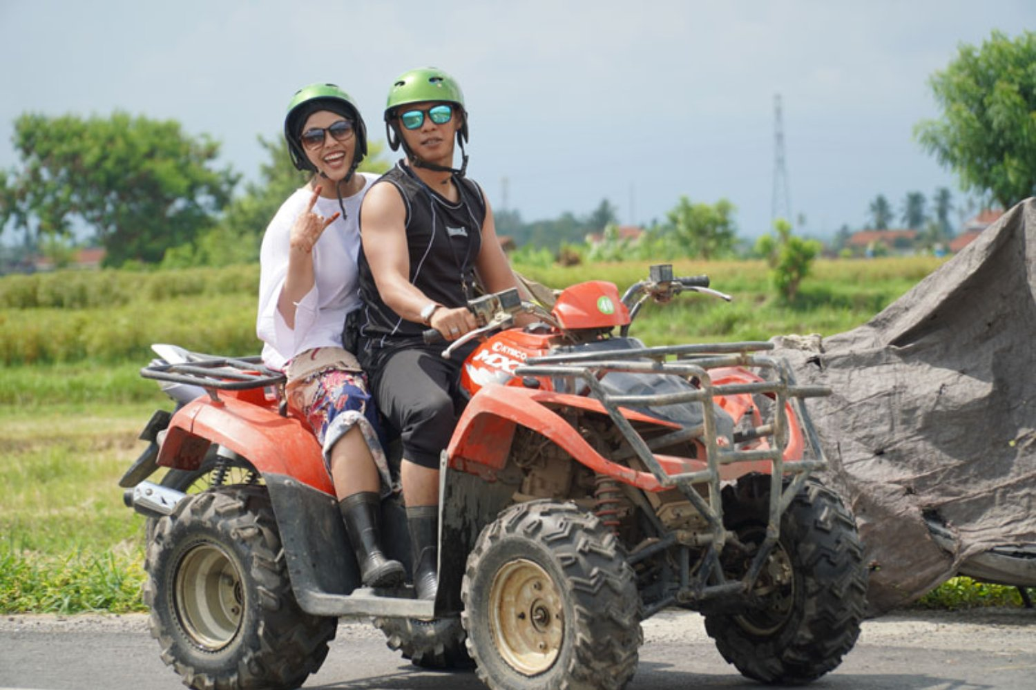 ATV Riding in Ubud Village