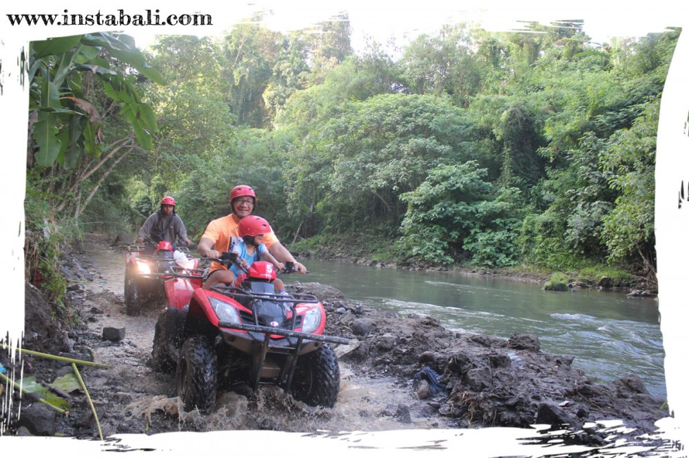 Quad Bike on Dirty Way