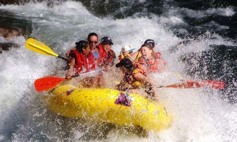 Rafting at Ayung River Bali