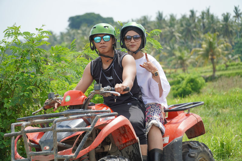 Ride ATV in Ubud Village