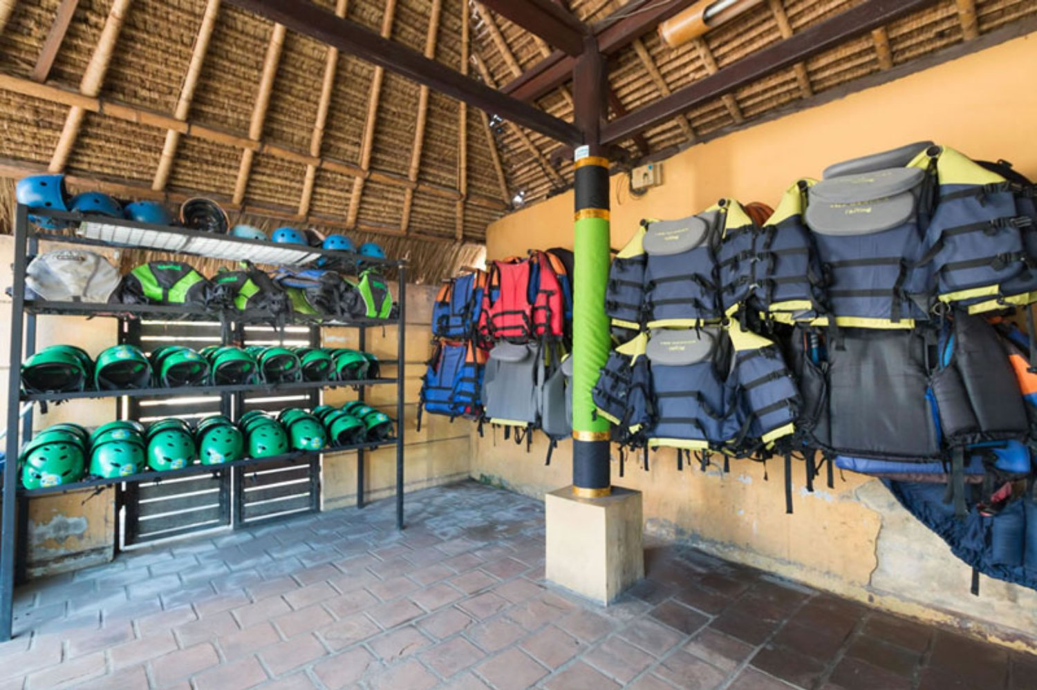 Safety Equipment in Ayung Rafting Adventure Ubud