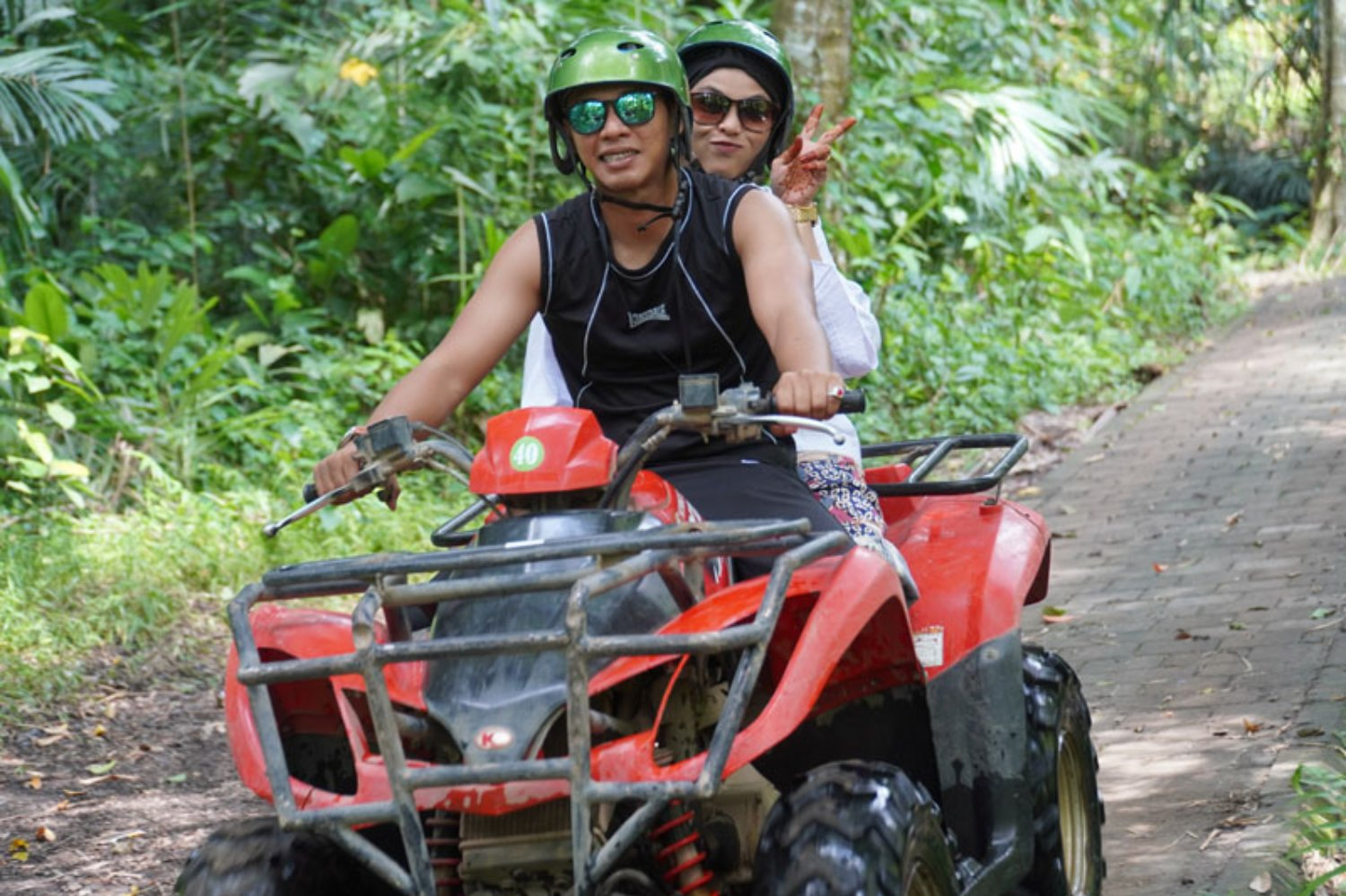 Ubud Quad Bike Ride Tour with Challenging Track