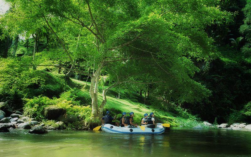 Rafting Adventure in Bali Nature